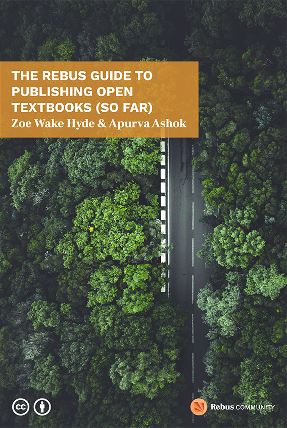cover image of the Rebus Guide to Publishing Open Textbooks
