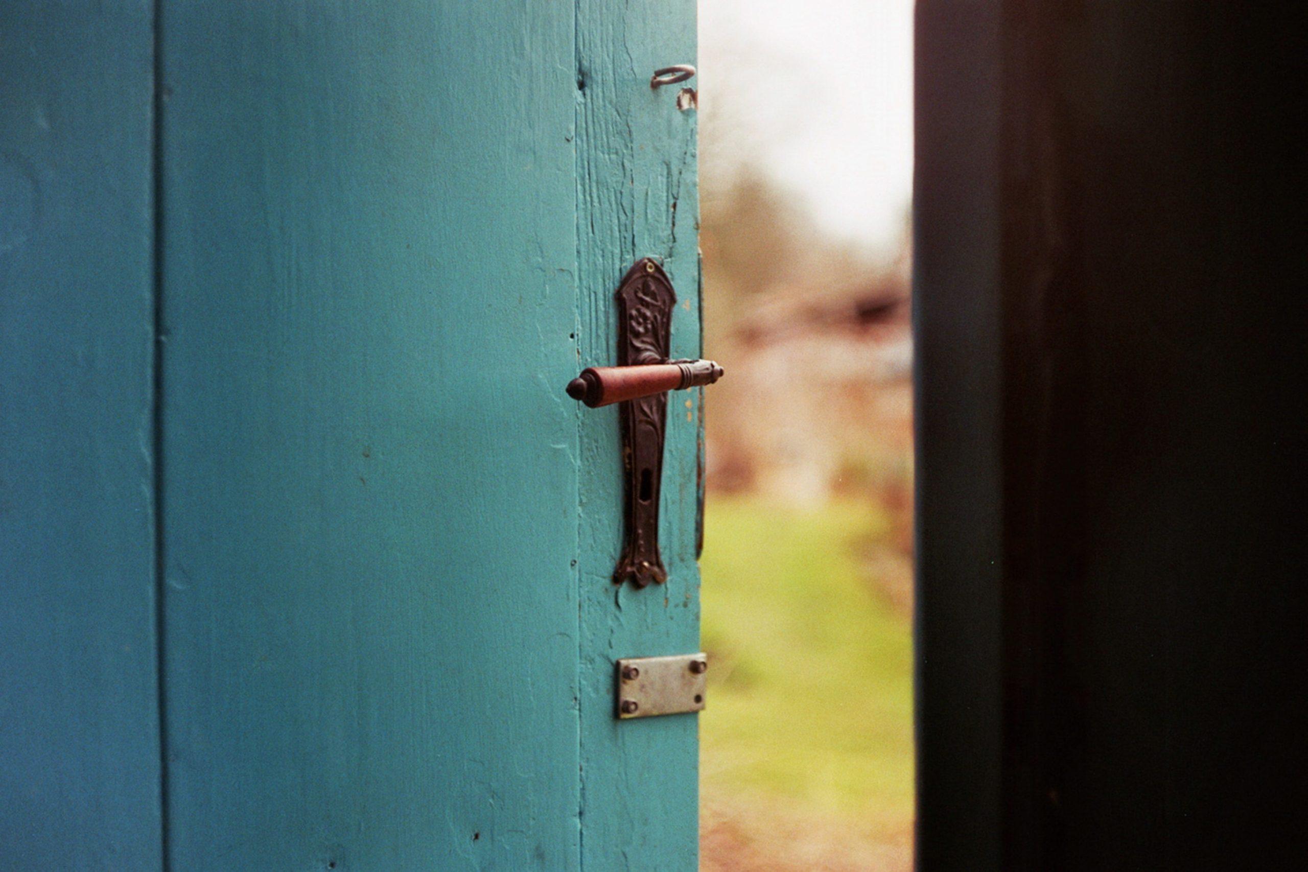Door open a crack