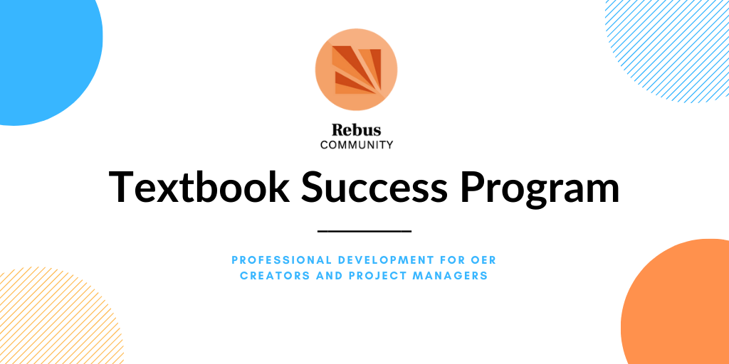 Promo card for the Textbook Success Program.